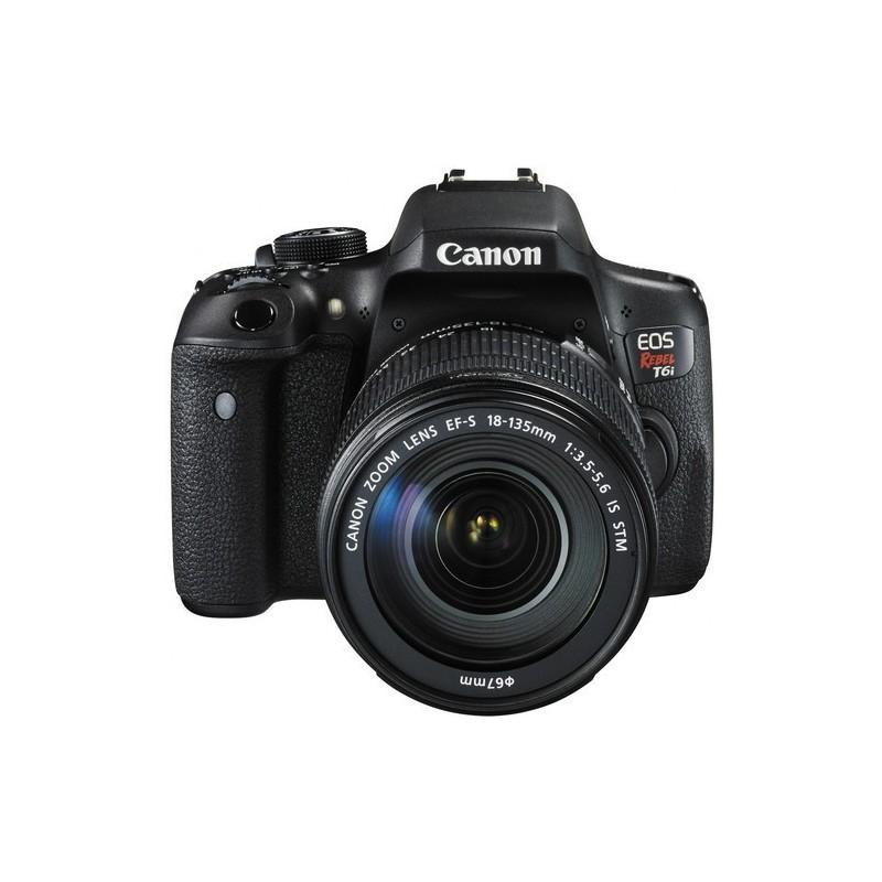 Canon T6i com lente 18-135mm STM