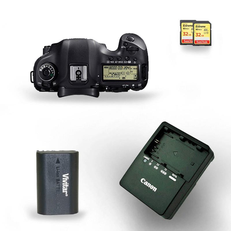 kit-locacao-canon-5d-mark-iii-com-bateria-lp-e6-extreme-32gb-90mbs 2 câmeras aluguel de equipamentos fotográficos rj