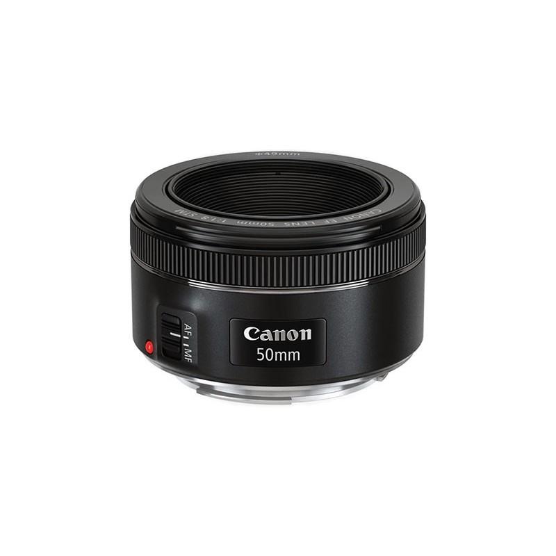 lente-canon-50mm-f-18-stm loca câmeras locação de equipamentos fotograficos rj