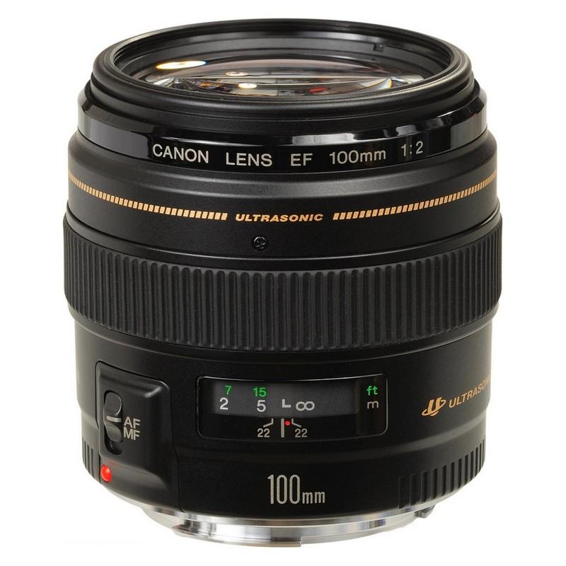Lente 100mm f/2 Canon
