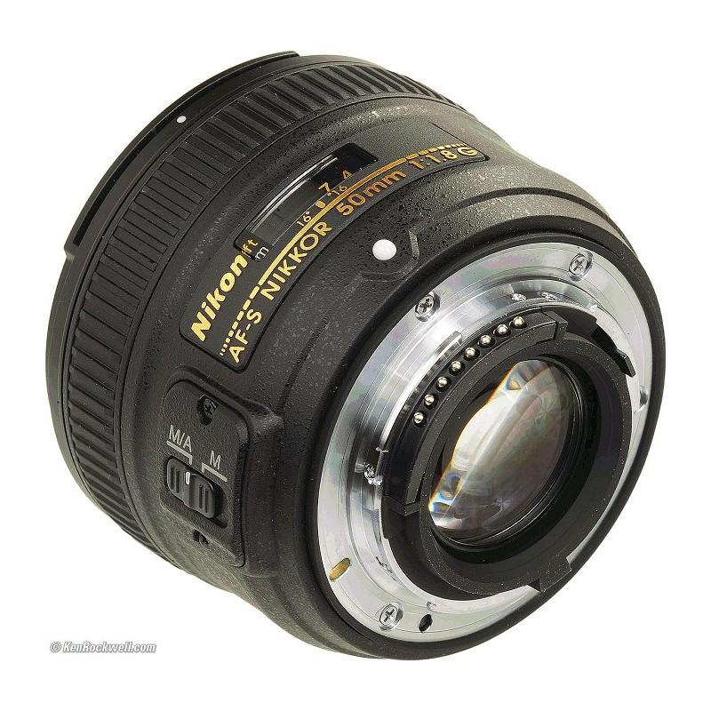 Lente AF-S Nikkor 50mm f/1.8G da Nikon