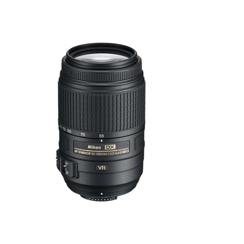 lente-nikon-afs-55-300mm-f-45-56g-ed-vr loca câmeras locação de equipamentos fotograficos rj