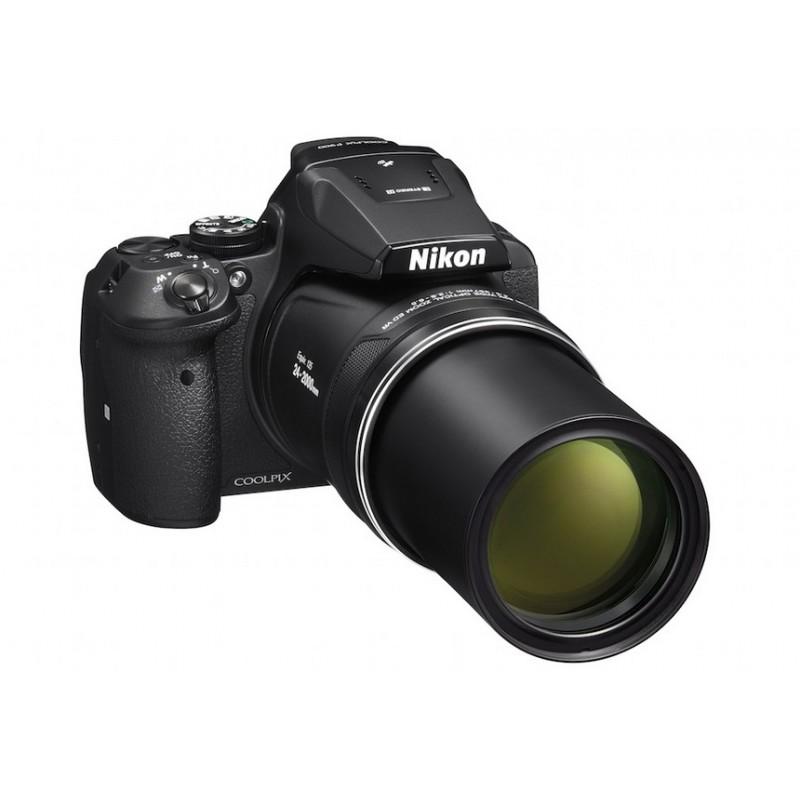 Câmera Didital Semi Profissional Nikon P900 com Zoom de 83x