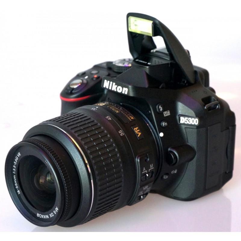 nikon-d5300-18-55mm loca câmeras locação de equipamentos fotograficos rj