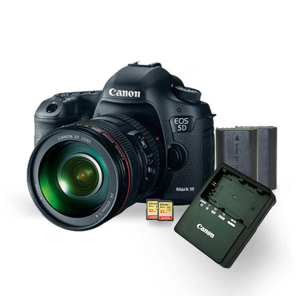 kit-locacao-canon-5dmarkiii-1-com-bateria-lp-e6-extreme-32gb-90mbs-câmeras-aluguel-de-equipamentos-fotográficos-rj