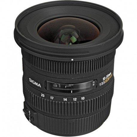 Lente Sigma 10-20mm f/3.5 para Canon.
