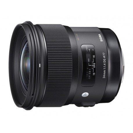 Sigma 24mm f/1.4 ART para Canon.