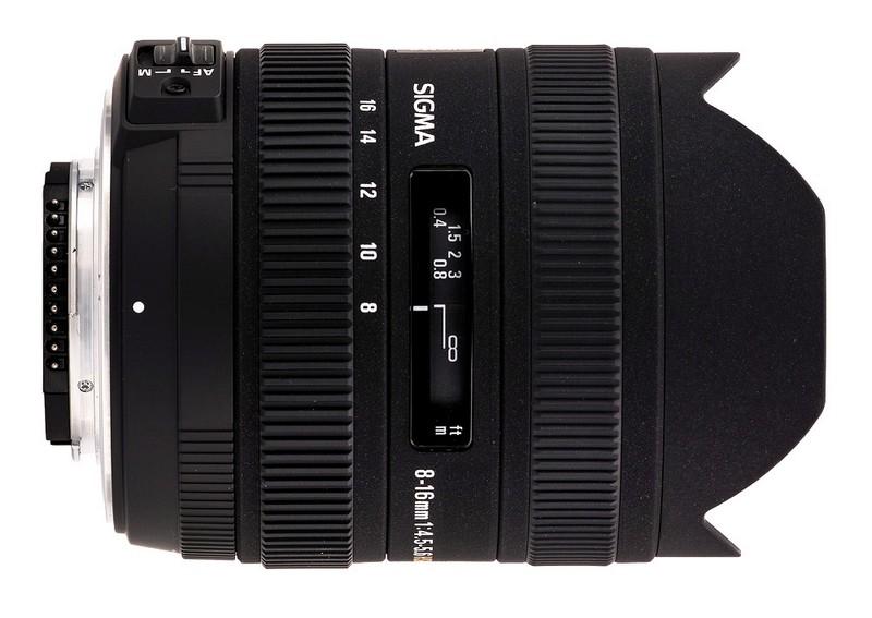 Lente Sigma 8 16mm f 4.5 5.6 DC HSM (Canon) – Detalhes