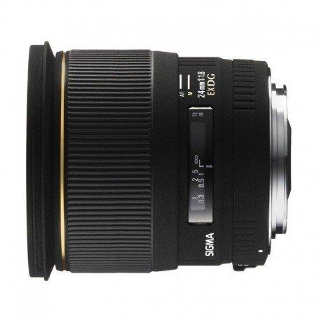 Lente Sigma AF 24mm f 1.8 EX DG DF – Detalhes