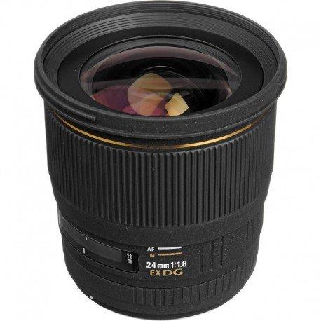 Lente Sigma AF 24mm f 1.8 EX DG DF