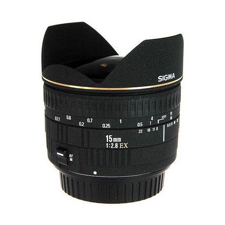 SigmaOlho de Peixe 15mm f/2.8 EX DG Diagonal
