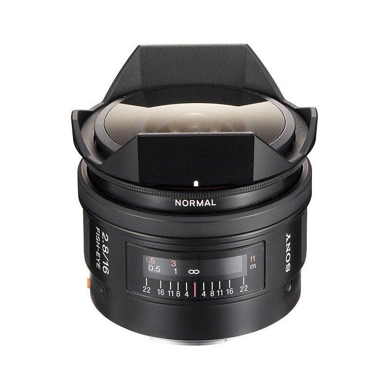 Lente Sony 16mm f/2.8.