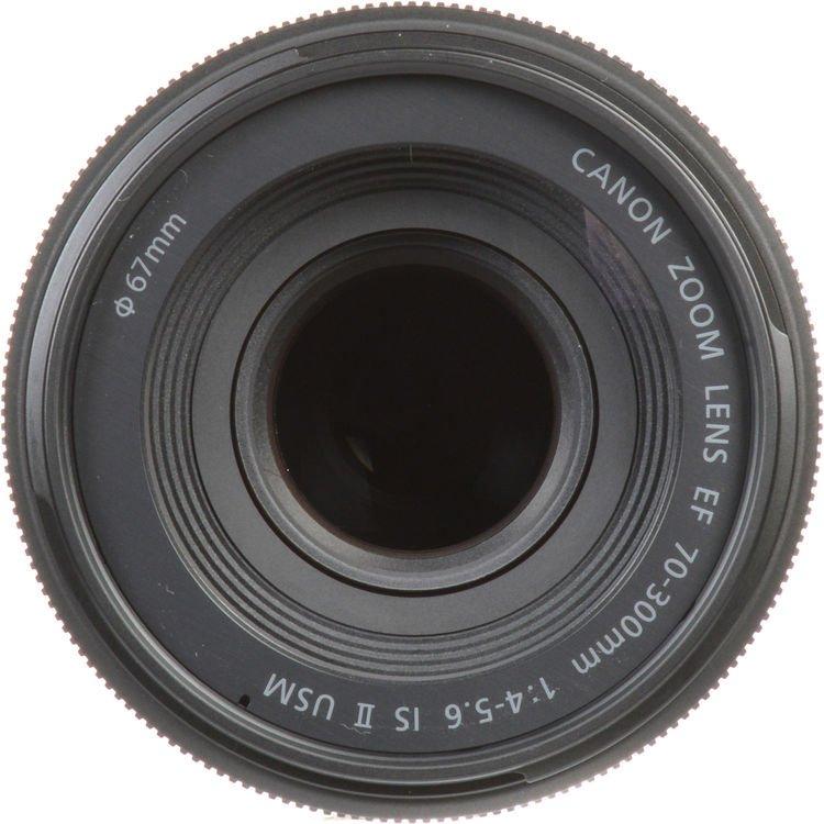 Lente Canon EF 70 300mm f/4-5.6 IS II USM – Detalhes