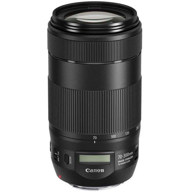 Lente Canon EF 70 300mm f/4-5.6 IS II USM