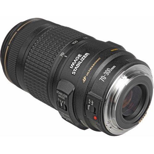 Lente Canon EF 70 300mm f 4 5.6 IS USM – Baioneta