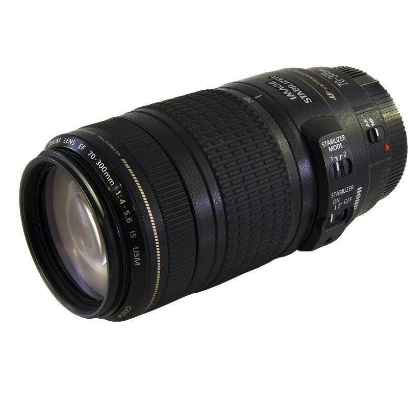 Lente Canon EF 70 300mm f 4 5.6 IS USM – Detalhes