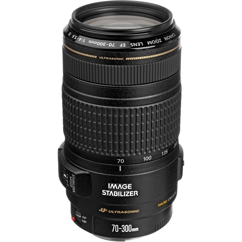 Lente Canon EF 70 300mm f 4 5.6 IS USM