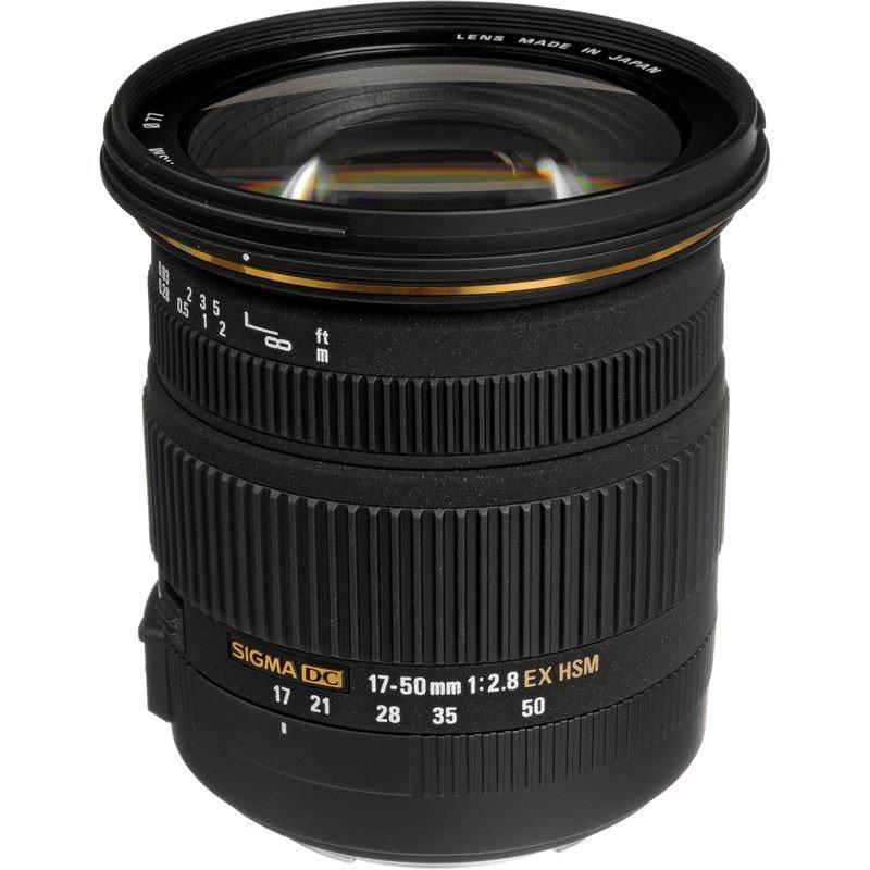 Lente Sigma 17 50mm f 2.8 EX DC OS HSM (Nikon)