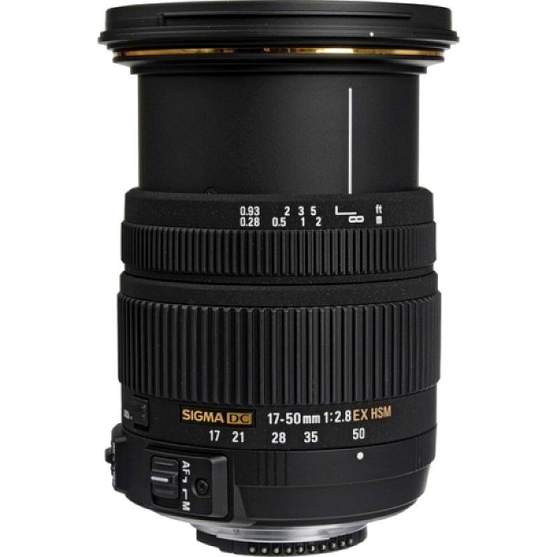 Lente Sigma 17 50mm f 2.8 EX DC OS HSM (Nikon) – Detalhes