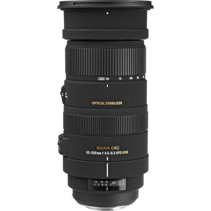Lente Sigma 50-500mm APO.