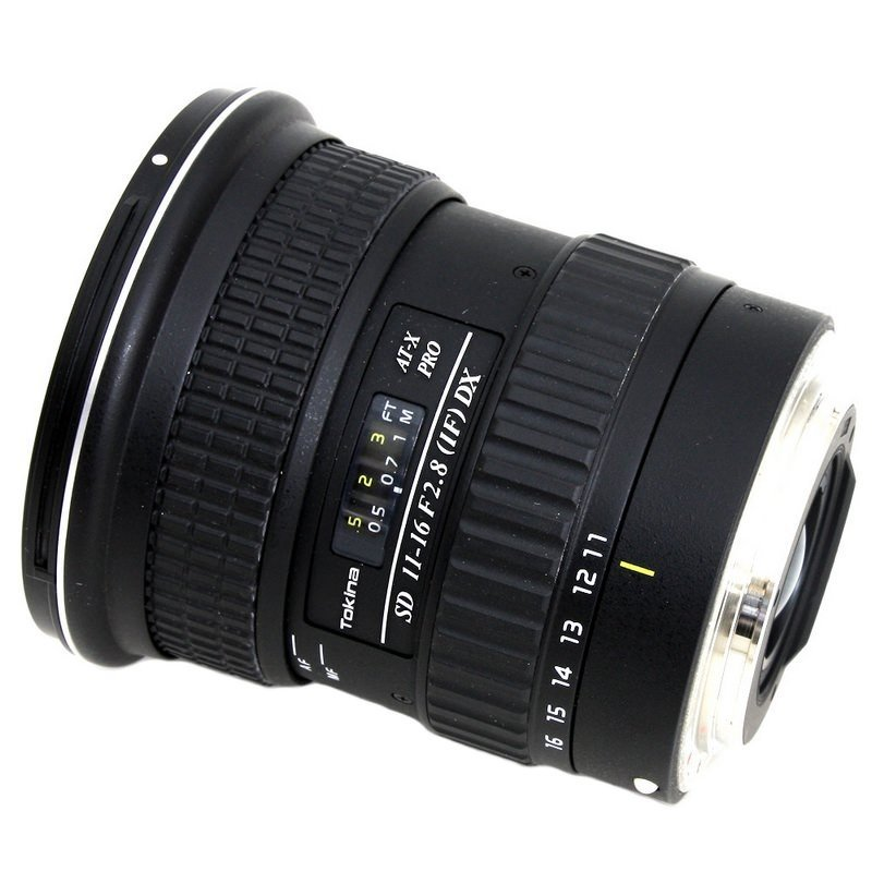 Lente Tokina 11 16mm f/2.8 AT X Pro DX – Baioneta
