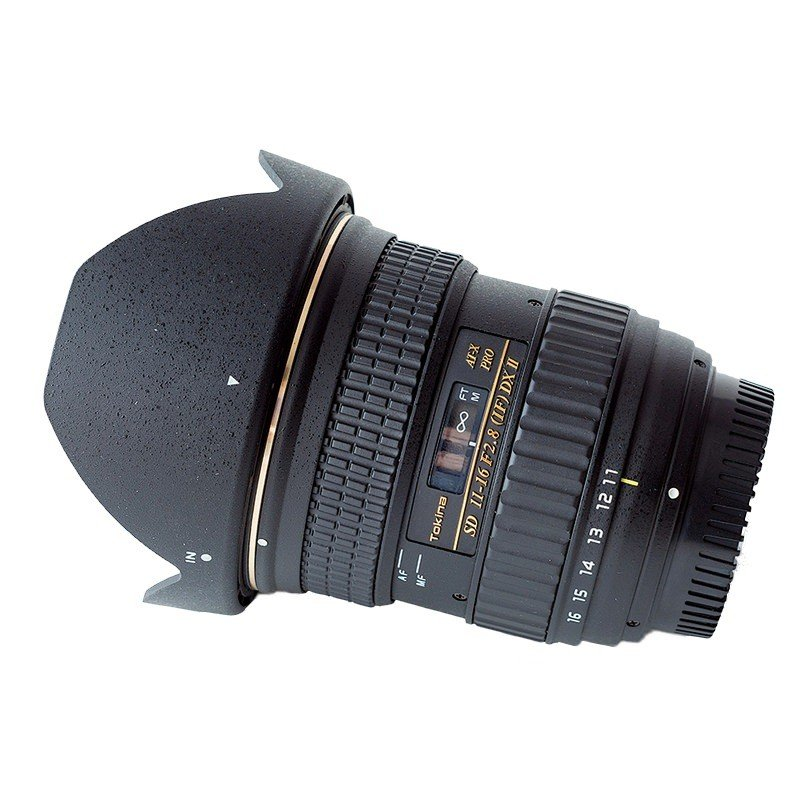 Lente Tokina 11 16mm f/2.8 AT X 116 Pro DX II – Parasol