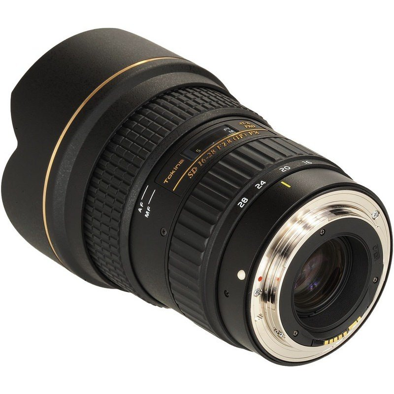 Lente Tokina 16 28mm f/2.8 AT X Pro FX – Baioneta Canon
