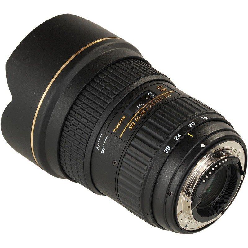 Lente Tokina 16 28mm f/2.8 AT X Pro FX – Baioneta Nikon