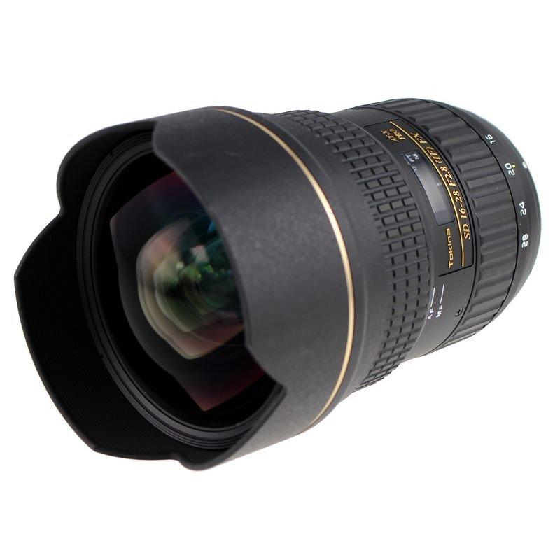 Lente Tokina 16 28mm f/2.8 AT X Pro FX – Detalhes