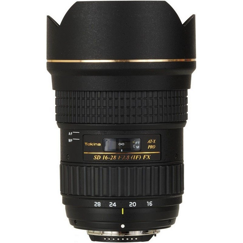 Lente Tokina 16 28mm f/2.8 AT X Pro FX