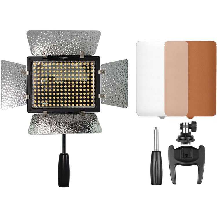 Iluminador LED Yongnuo YN-160 III – Detalhes