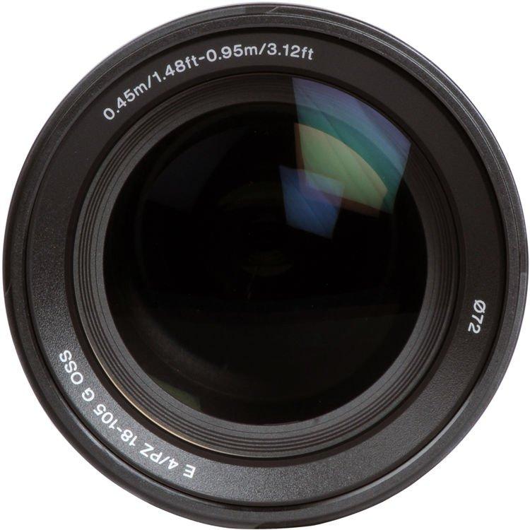 Lente Sony E PZ 18 105mm f/4G OSS – Detalhes