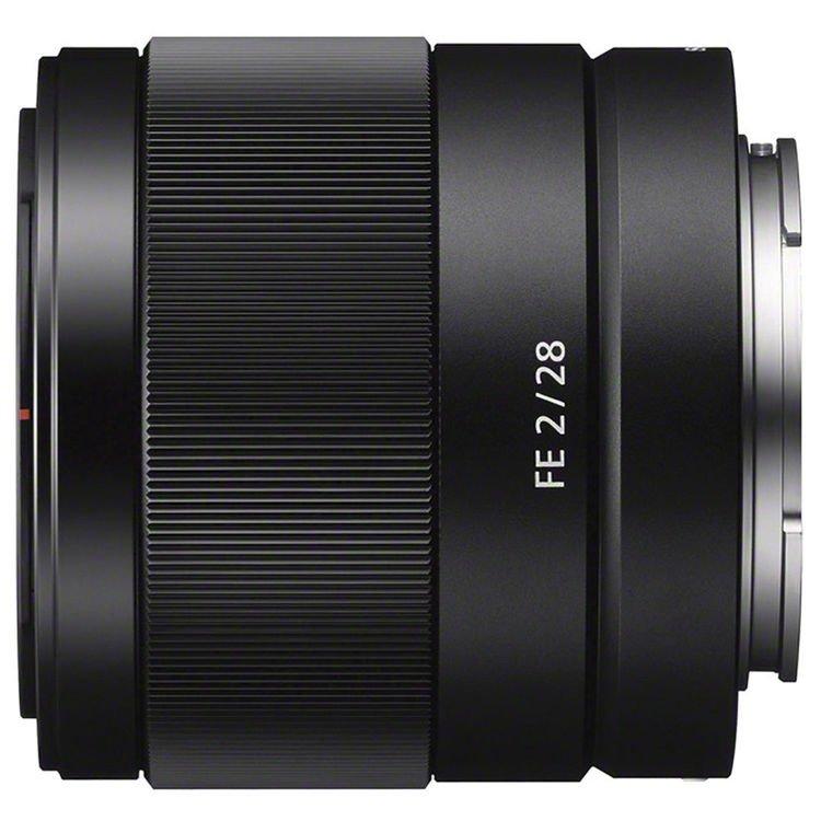 Lente Sony FE 28mm f/2 – Detalhes