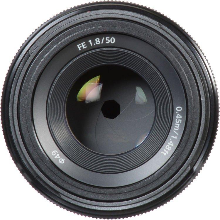 Lente Sony 50mm f/1.8 – Detalhes