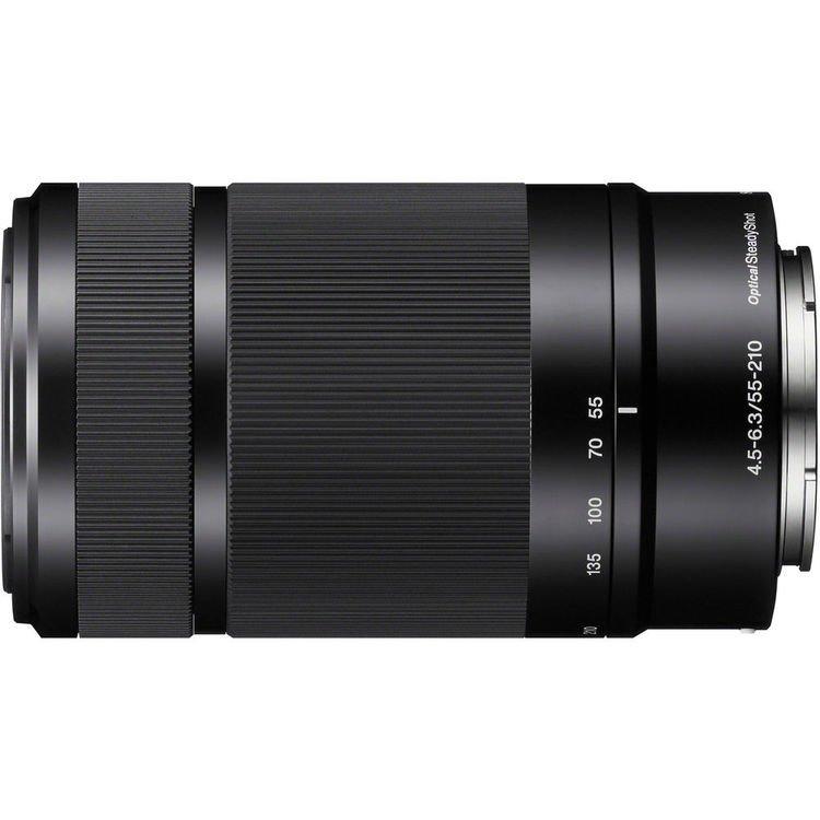Lente Sony E 55 210mm f/4.5-6.3 OSS – Detalhes