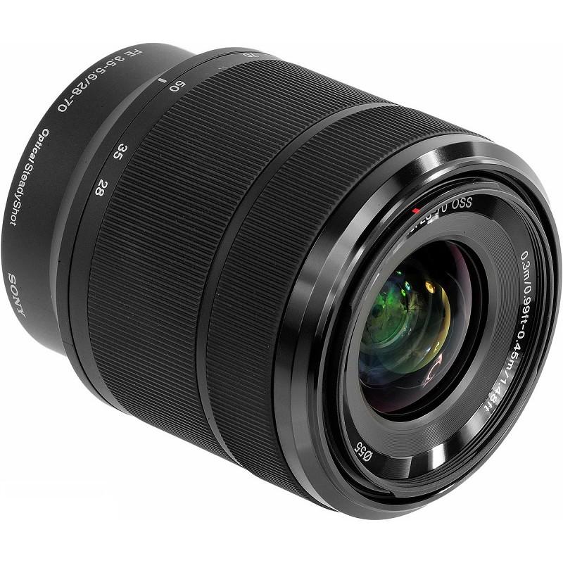 Lente Sony FE 28-70mm f3.5 5.6 OSS – Detalhes