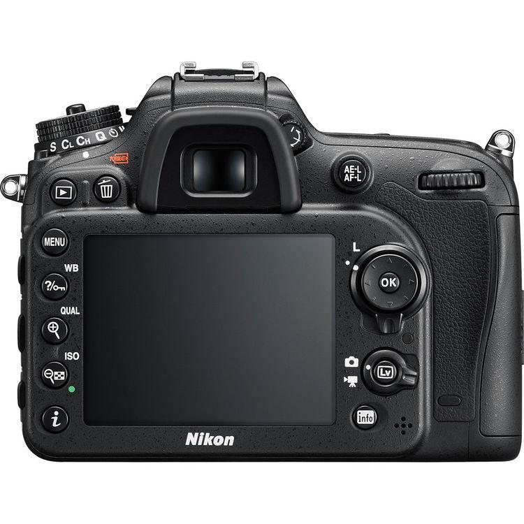 Nikon D7200 + AFS 18 55mm f/3.5 5.6G VR II DX – LCD
