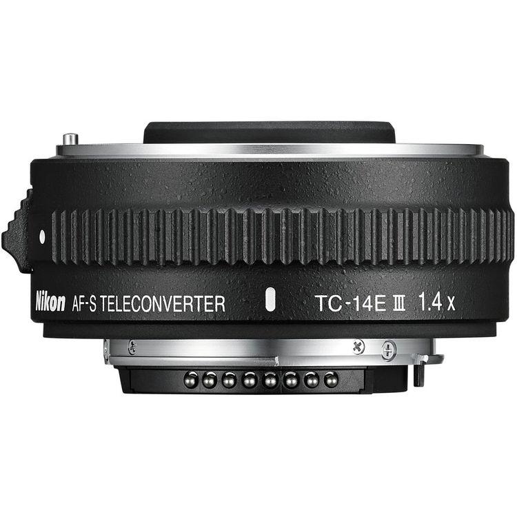 Teleconverter Nikon Extender TC 14E III 1.4x – Detalhes