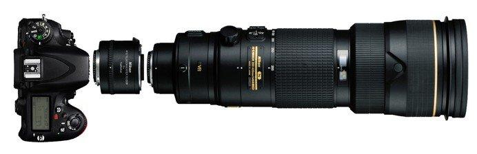 Teleconverter Nikon Extender TC 20E III 2x – Exemplo