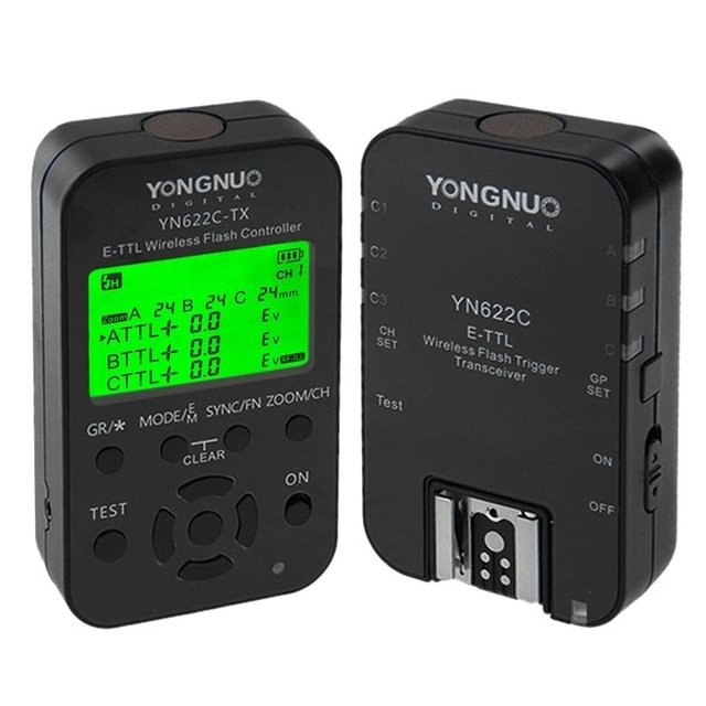 Radio Flash Yongnuo YN622C KIT