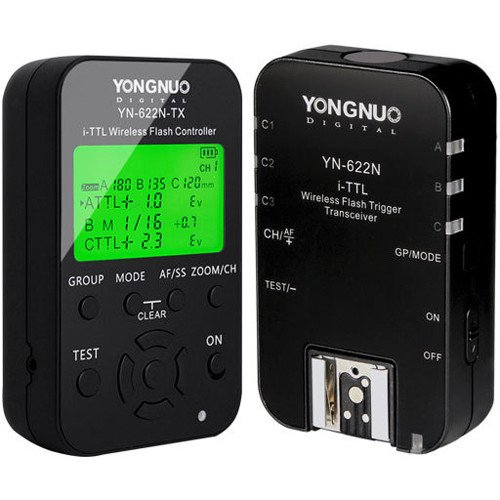 Radio Flash Yongnuo YN622N KIT (Nikon)