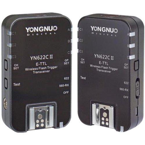 Rádio Flash Yongnuo YN 622C II E-TTL (Canon)