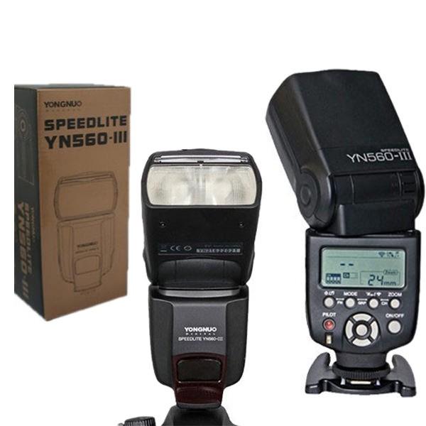 Flash Yongnuo YN560 III – Caixa