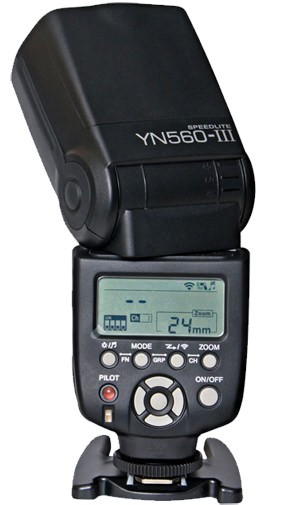 Flash Yongnuo YN560 III – Detalhes