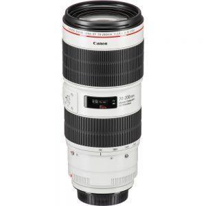Lente Canon EF 70 200mm f 2.8L IS III USM