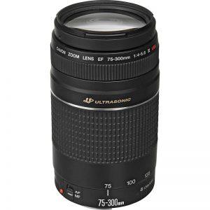 Lente Canon 75 300mm f 4 5.6 III USM