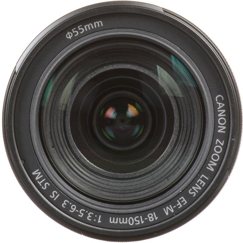 Lente Canon EFM 18 150mm f/3.5 6.3 IS STM – Detalhes