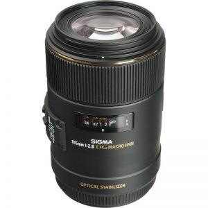 Lente Sigma 105mm f 2.8 EX DG OS HSM Macro