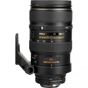 Lente Nikon AF S 80 400mm f 4.5 5.6D VR ED