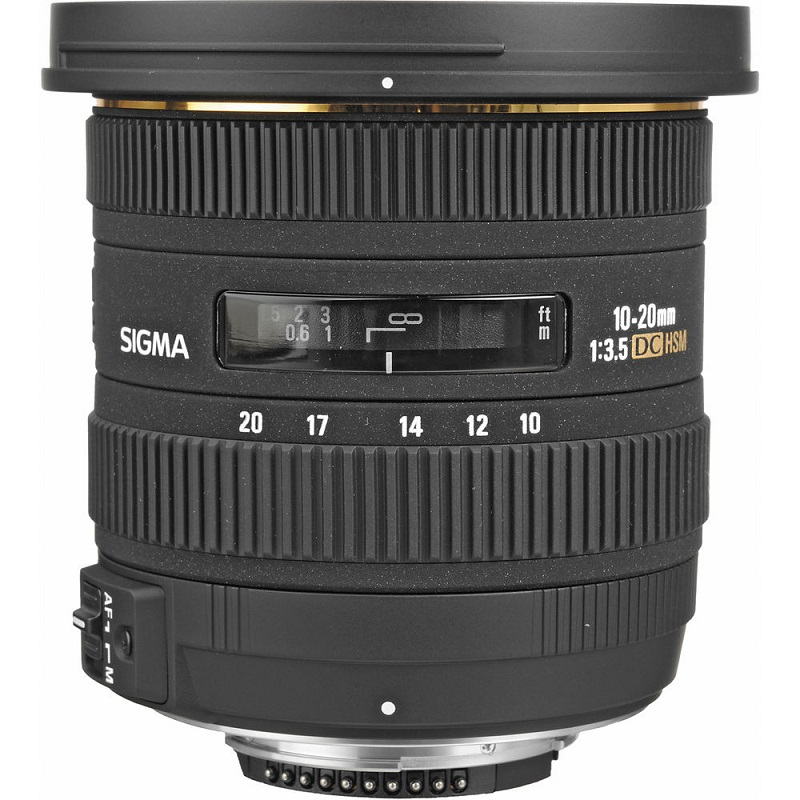 Lente Sigma 10 20mm f 3.5 EX DC HSM (Nikon) – Detalhes